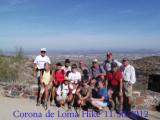 Corona de Loma Trail 11/30/2012