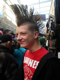 Tom's Mohawk Hair Style