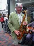Aged Saxophonists