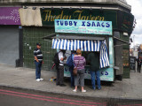 Tubby Isaac's Jellied Eel Stand