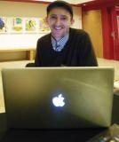 Smiling Apple User