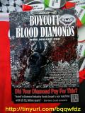 Boycott Blood Diamonds
