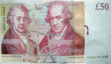 Fifty Pounds Banknote (back)