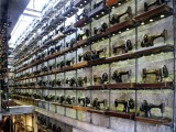 Rows of Sewing Machines