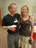 Doug  Robertson and His Lovely  Wife