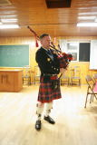 Bob  Macpherson on the pipes.