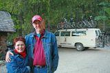 Kim and Ron Scutt, (Teachers Of Stehekin School , ) Their First 12 Years In Old Log School
