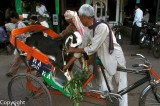 His last ride... in Chandni Chowk
