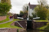 Locks on the Stourton Canal