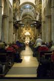 Pilgrims' end in Santiago de Compostela
