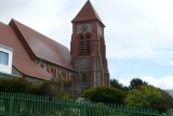 The most southern Anglican Church - Christ Church Cathedral.  It's on their banknotes.