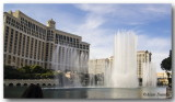 The Bellagio's Fountain in action....