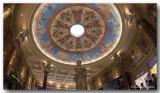 Casino ceiling.