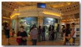 Ah! The circular aquarium.