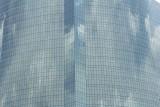 Skyscraper window reflection near the Chao Phraya River