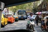 Tuk-tukking through the streets of Bangkok