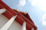 Looking Up at Wat Kalayanamit