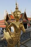 Wat Phra Kaew Kinnara Statue