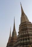 The Chedis at Wat Pho