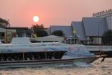 Chao Phraya River Sunset