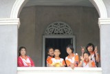 School Children visting the Bang Pa-In Summer Palace