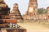 The Pandafords at Wat Phra Mahathat