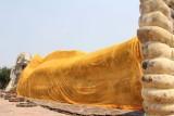 Wat Lokayasutharam Reclining Buddha