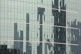 Bangkok Skyscraper Reflection