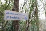 Temple Sign near Khao Yai