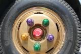 Tour bus wheel
