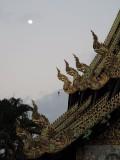 Chiang Mai Moonrise