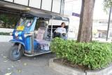 Napping Tuk Tuk Driver