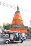 Chiang Mai Tuk Tuk and Stupa