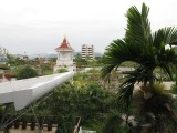 View from the balcony of our hotel, the Baan Suwantawe
