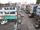 street behind the Baan Suwantawe Hotel