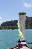 Long boat ride to Railay Beach