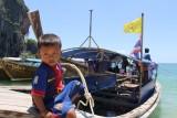 Future Captain of a Ao Nang Longboat