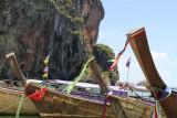 Phra Nang Beach longboats