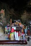 Offerings at Phra Nang (Princess) Cave