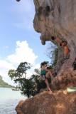 Railey East Beach Rock Climbing
