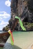 Phra Nang Beach longboat