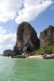 Leaving Phra Nang Beach