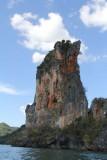 Phra Nang Beach Limestone Cliff