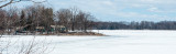 Frozen Spring North Hero Island Lake Champlain