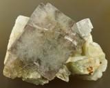 Fluorite, Hollywell Mine, Frosterley, Weardale, Co Durham, 45mm.