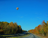 EARLY MORNING BALLOONING ON A BEAUTIFUL FALL DAY  -  ISO 100  -  TAKEN WITH A SONY/ZEISS 24mm f/1.8 E-MOUNT LENS
