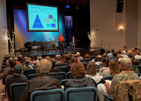 CHURCH CONGREGATIONAL MEETING  -  ISO 1600  -  AN IN-CAMERA HDR IMAGE