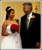 Love Between Bride and Father.