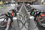 montreal, shared bike depot