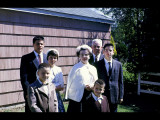 Richard, Mike, Mary, Mom, Dad, John, and Dan